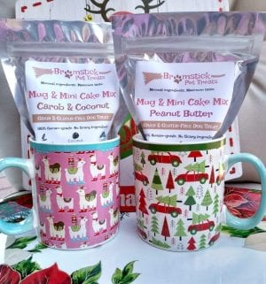 Grain-free Dog Mug & Mini Cake Mix